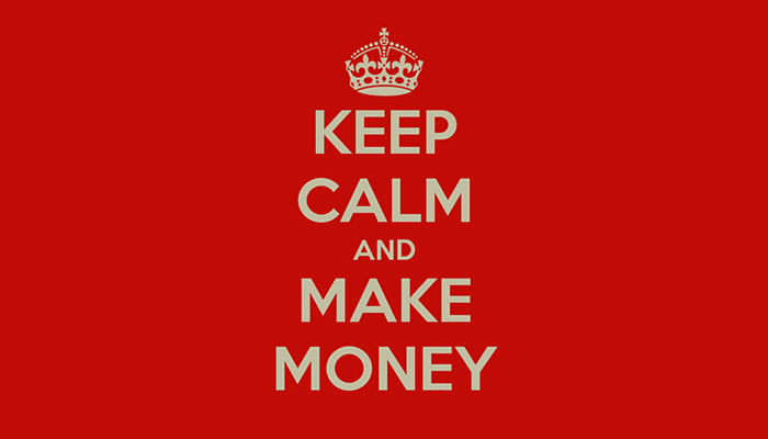 Keep Calm and Make Money 700 x 400 pxl